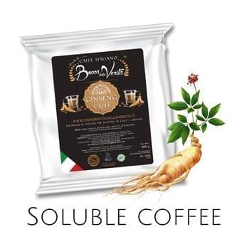 Easy to prepare Italian coffee soluble