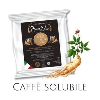 Caffè italiano solubile di facile preparazione