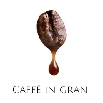 Chicchi di caffè italiani
